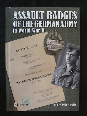 Book: Assault Badges of the German Army in World War II - 61 BW Images