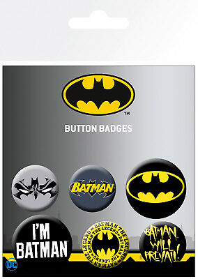 4d6689b326f BATMAN COMICS MIX Badge Pack - £2.37