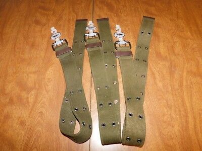 Mossimo Men's Webbed Belts w/Grommets, Size Small, Lot of 3, New w/o Tags