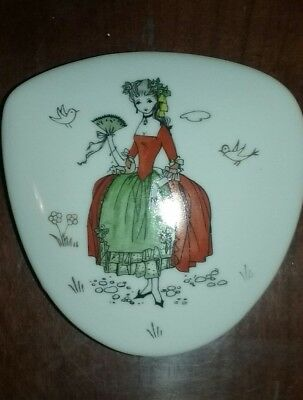 Vintage Ardalt Lenwile China Hand Painted Trinket Box