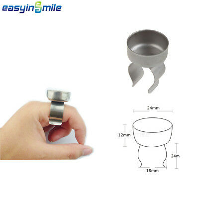 Easyinsmile 1Pc Dental Endo Bowl Cup Prophy Ring Mixing Finger Dish Handy Tool