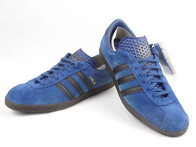 low cost 12210 a02bb Adidas Mens Trainer Shoes Dublin Taiwan Blue Black Size 9 UK  43.5 EUR