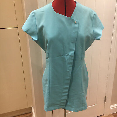 BNWOT FLORENCE ROBY UNIFORM TUNIC TOP in Turquise Size 12
