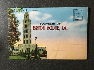 Baton Rouge, LA  fold out with 18 views and a write up