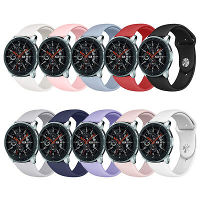 Silicone Sport Band Replacement Strap Bracelet for Samsung Galaxy Watch 42/46mm