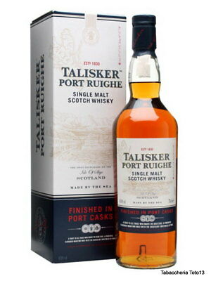 Whisky Talisker Port Ruighe Made By The Sea Vol.45,8% Cl.70