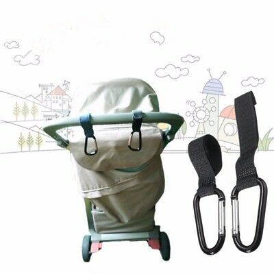 2pcs Velcro Buggy Hooks Pram Hanging hook for toys Clip Storage pram accessories