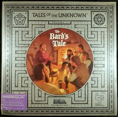 Bard's Tale: Tales of the Unknown (Commodore 64 C64, 1985) 0014633010978