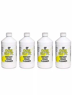 One Shot Drain Cleaner 1 Litre Four Pack (4 Litres)