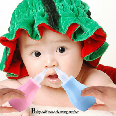 Baby Health Care Nasal Aspirator Baby Cold Infant Suction Cleaning Nose TB