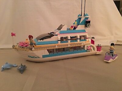 Lego 41015 Friends Dolphin Cruiser Yacht Dauphin Notice Complet De