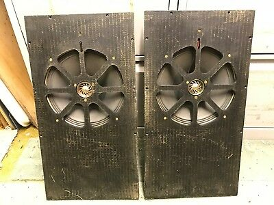 "Super rare CELESTION 10"" Alnico co-axial dual concentric vintage speakers (2)"