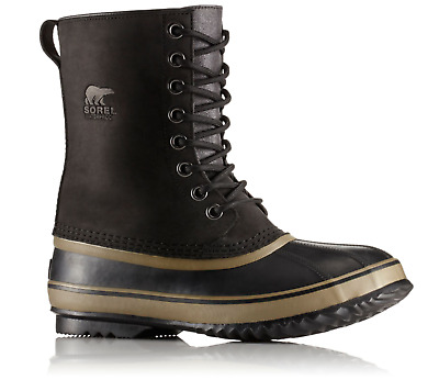 Sorel Mens 1964 Premium T Boots 8-8.5-9 Waterproof Leather Rubber Toed Winter
