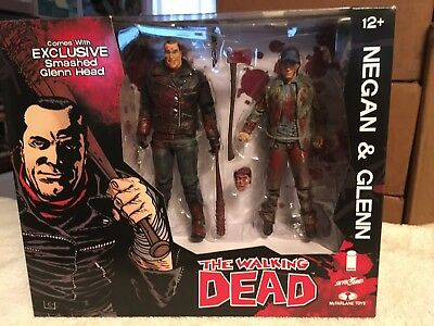 McFarlane The Walking Dead Negan & Glenn Action Figure 2 PK FREE SHIPPING!
