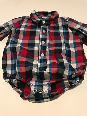 Infant Button Down Shirt Size 9 Months, Selling As 2 Pieces