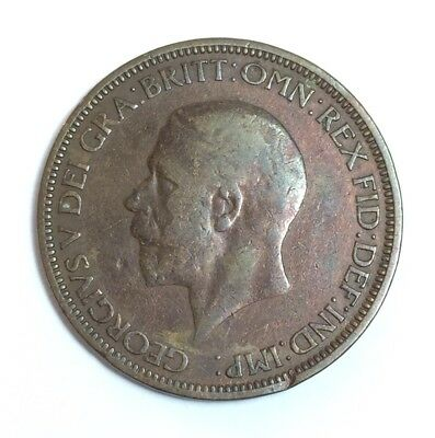 1936 Great Britain Half Penny