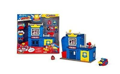 Rivals of Kaboom Police Station Figures Toy Collect Vehicle Playset Multi-Colour