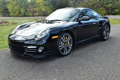 2011 Porsche 911 Twin Turbo Coupe Porsche Certified Factory Warranty-PCCB-Sport Seats-PDK-Heated Seats-Rear Wiper!