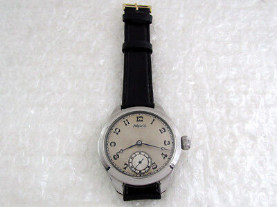 Alpina Antique 1900's Swiss Amazing Art Deco Men's Watch FULLY SERVICED & RUNS