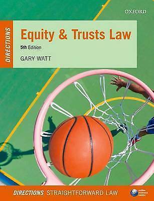 Equity & Trusts Law Directions 5/e (Directions series), Watt, Gary, New Book