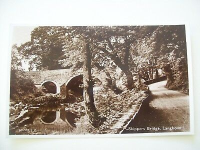 Skippers Bridge Langholm. Valentines No 209507. Which dates the image to 1930.