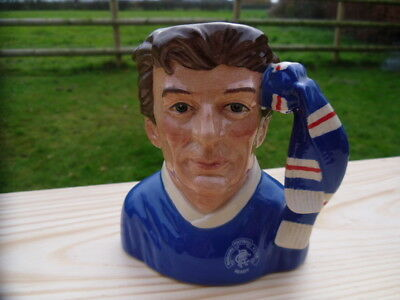 "D6929 "" Rangers "" supporters  Quality Medium Royal Doulton Character jug"