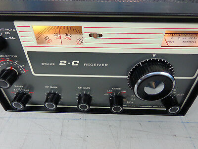 DRAKE  2-C Receiver....Great condition....Works and looks good