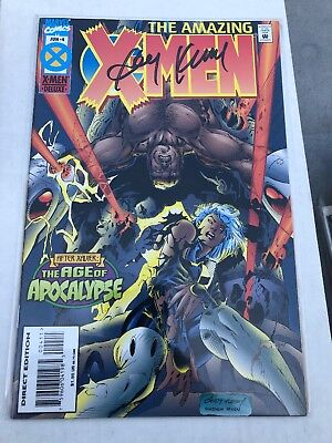 Amazing X-Men #4 (Jun 1995, Marvel) Signed By Andy Kubert