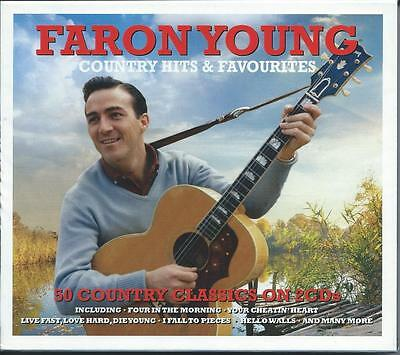 Faron Young - Country Hits & Favourites - 50 Country Classics 2CD NEW/SEALED