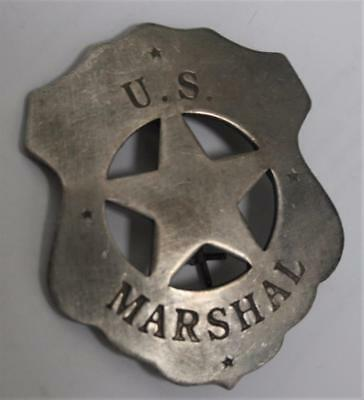 Reproduced Shield -- U.S. Marshal Badge, - Old West Style