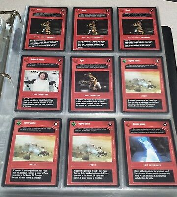 Star Wars trading cards various 1996-1999 lot of 70