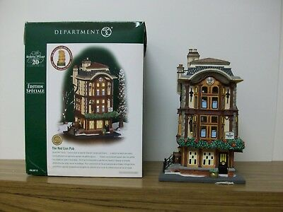 "Department 56 Dickens' Village ""The Red Lion Pub"" **NIB**"