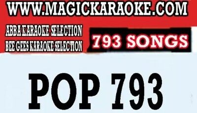 magicsing songchips SONG CHIPS POP793 793 songs for magic sing karaoke mic with