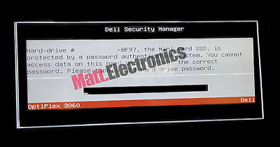 Dell Master Password for Laptop Displaying: 6FF1, 1F66, 1D3B, 2A7B, D35B, 595B