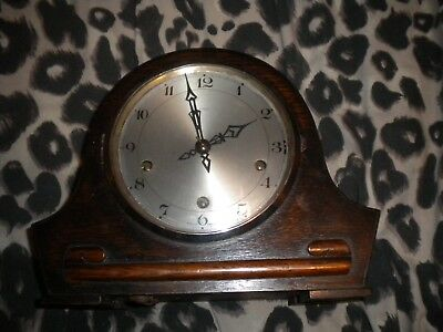 smiths enfield mantel clock, used