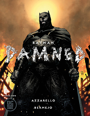 BATMAN: DAMNED #2 JIM LEE VARIANT COVER AZZARELLO STORY DC Black Label