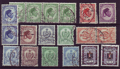 Libia 1952/1972 Lot Of 19 Used Stamps