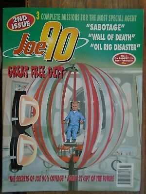 JOE 90  2nd issue ,,1994 ,,with  GREAT FREE GIFT ,, Joe's glasses ,,