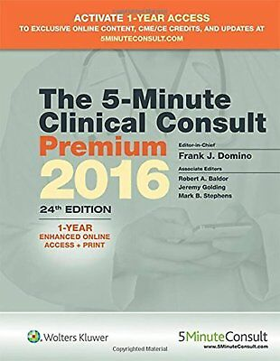 The 5-Minute Clinical Consult Premium 2016: 1-Year Enhanced Online Access +...