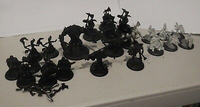 Warmachine / hordes assembled, undercoated circle army