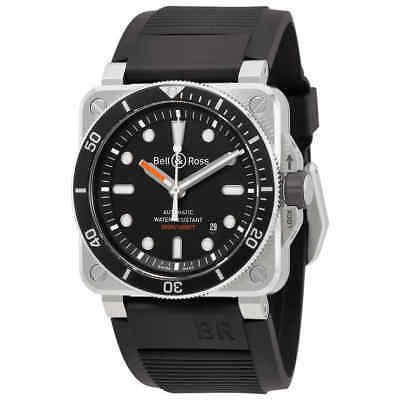 Bell and Ross Diver Automatic Men's Watch BR0392-D-BL-ST/SRB