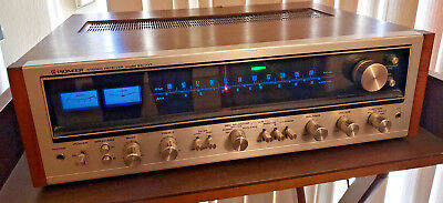 Vintage Pioneer Stereo Receiver Model SX-737 AM/FM Silver Face Made In Japan