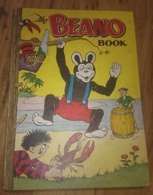 BEANO BOOK 1954 vintage comic annual