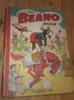 BEANO BOOK 1951 vintage comic annual