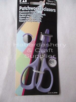 KAI SCISSORS RIGHT HANDED 120mm PATCHWORK WITH COVER