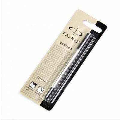 New Quink Roller Ball Rollerball Pen Refill - Medium Nib 0.5mm Black Ink