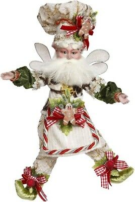 "Mark Roberts 2018 Christmas Gingerbread Baker Fairy Small 10"" 51-85844 NEW"