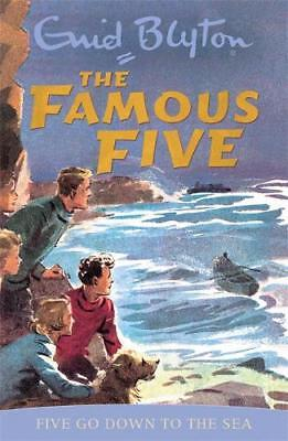 Five Go Down to the Sea (Famous Five), Enid Blyton, New, Book