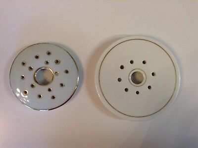 Two Butter Tub Strainer Inserts