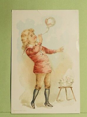 DR WHO VICTORIAN TRADE CARD ADVERTISING RIVAL RANGE LITITZ PA  d64902